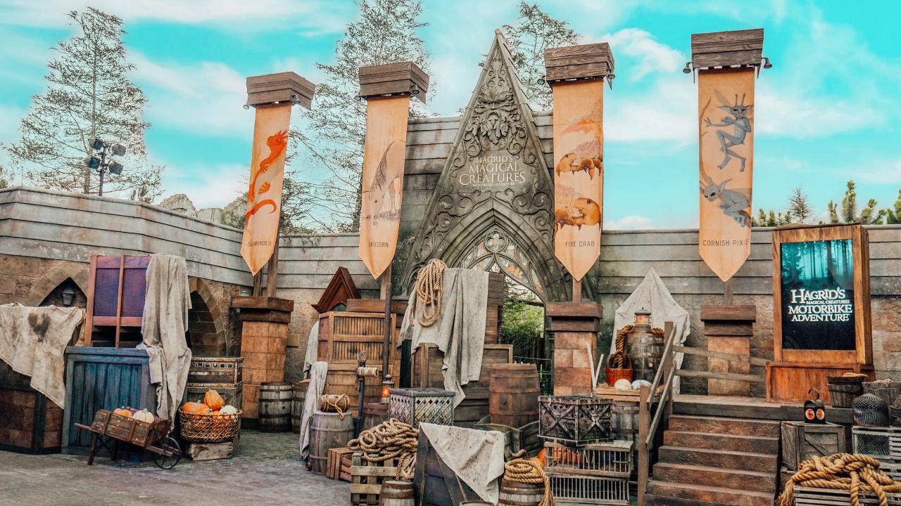 First Look Hagrid S Magical Creatures Motorbike Adventure Ride At Universal Orlando Resort Islands Of Adventure Universal Orlando Resort Universal Islands Of Adventure
