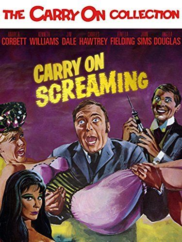 Carry On Screaming 1967 The sinister Dr Watt has an evil scheme going. He's kidnapping beautiful young women and turning them into mannequins to sell to local stores. Fortunately for Dr Watt, Detective-Sergeant Bung is on the case, and he doesn't have a clue! In this send up of the Hammer Horror movies, there are send-ups of all the horror greats from Frankenstein to Dr Jekyl and Mr Hyde.16