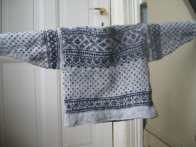 Ravelry: Norwegian Pullover WG59 SO44 pattern by Meg Swansen