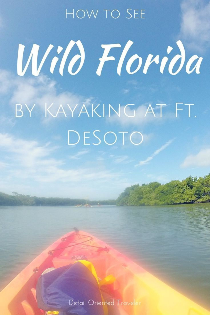 Go beyond the theme parks and see the real wild Florida with a kayak tour at Ft. DeSoto, just south of Clearwater Beach.