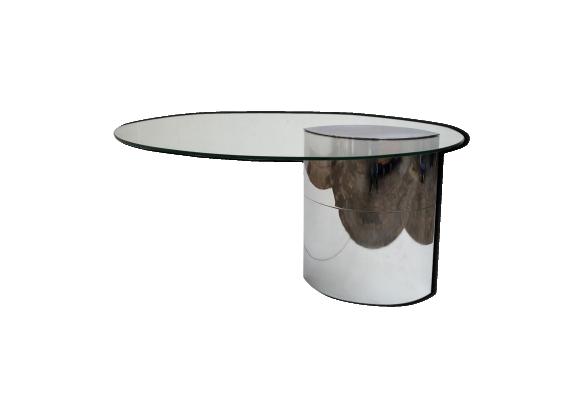Table lunario par cini boeri pour gavina 1971 - Film transparent pour table en verre ...