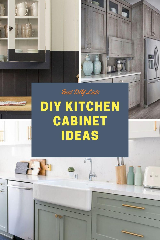 Best Kitchen Cabinet Diy Ideas Best Kitchen Cabinets Diy Kitchen Cabinets Kitchen Cabinet Remodel