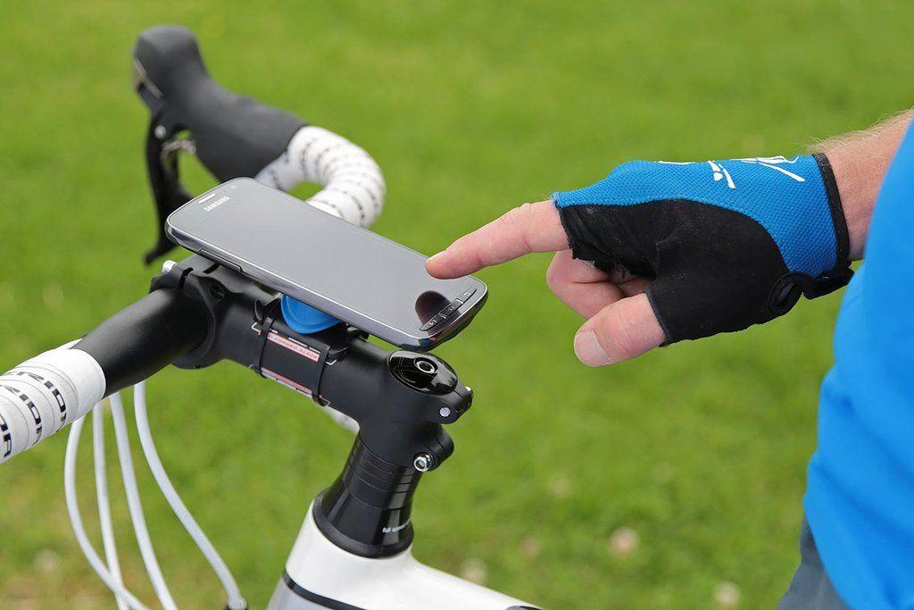 Quad Lock Universal Phone Mount Pure Cycles Bike Kit Bike