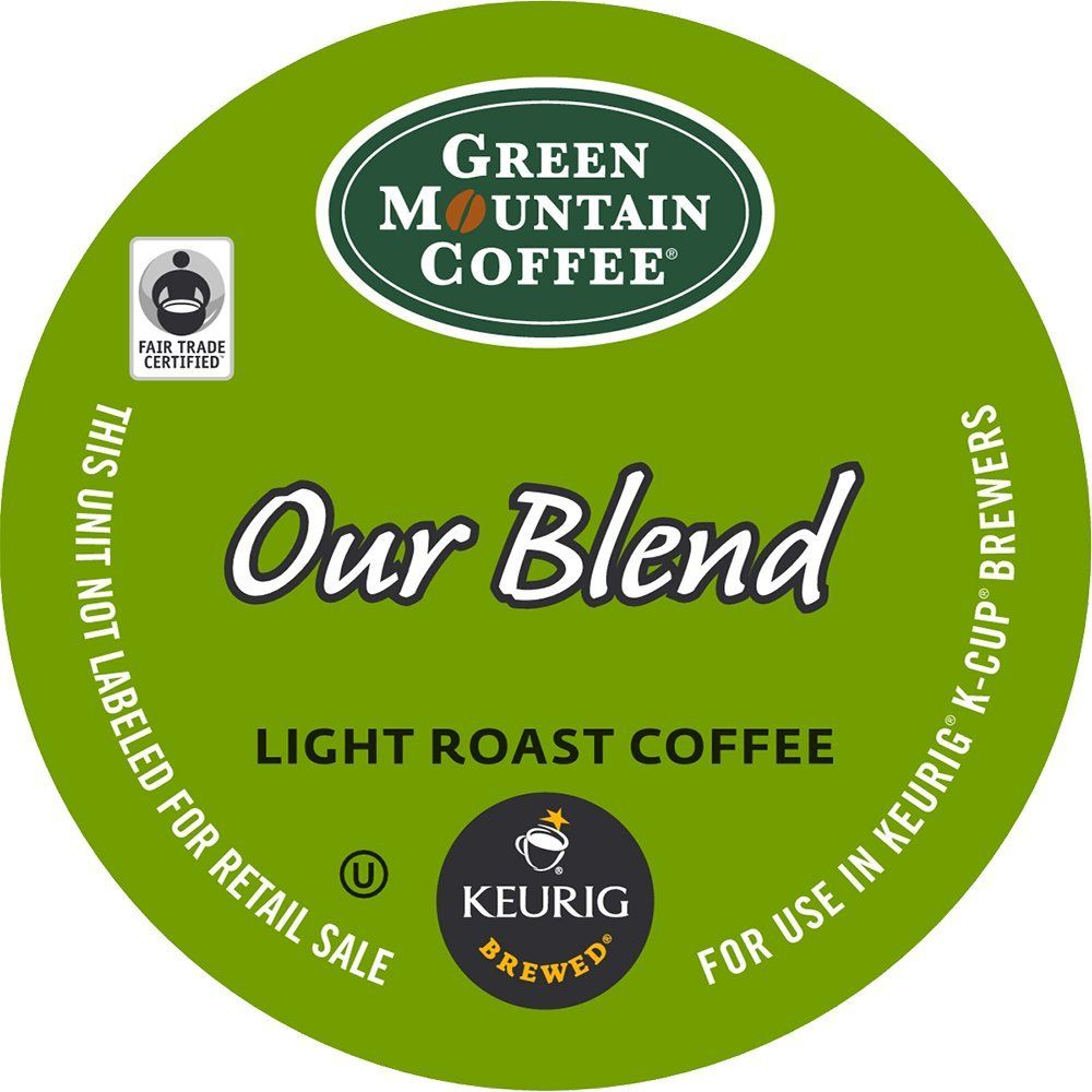 Green Mountain Coffee, Our Blend KCup Portion Pack for