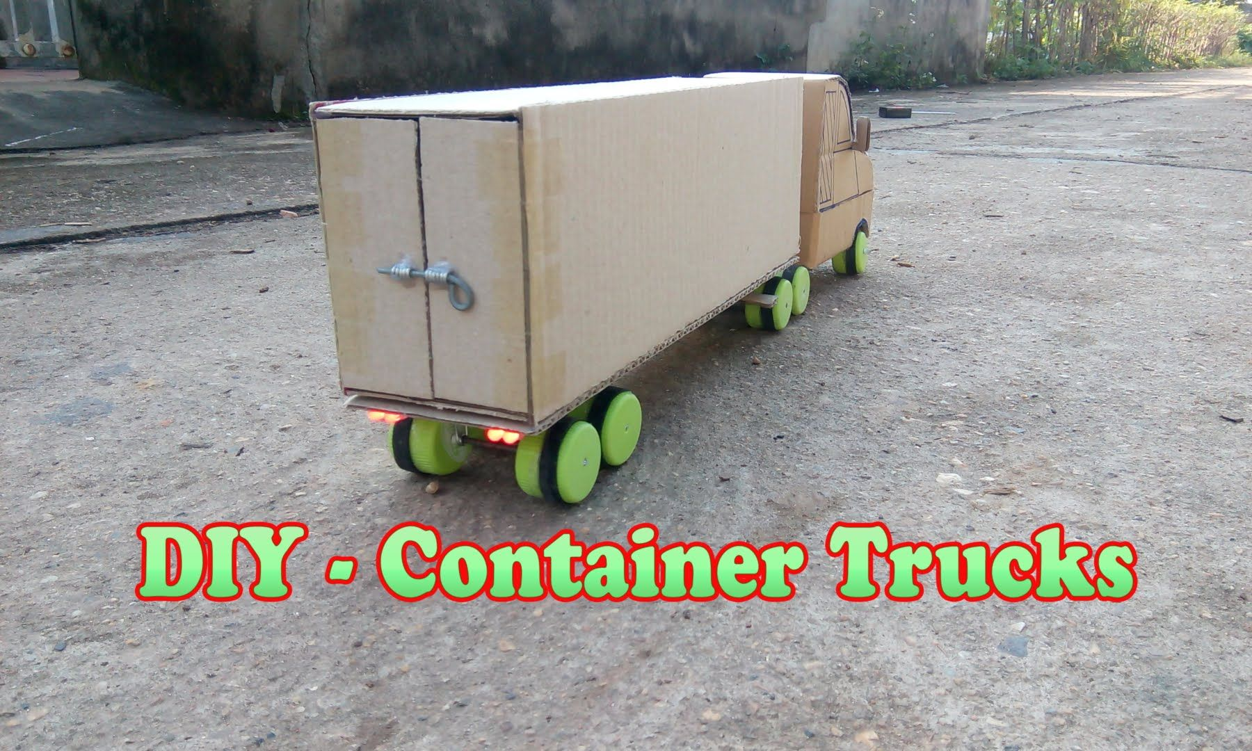 How To Make Container Trucks RC · Remote Control ...