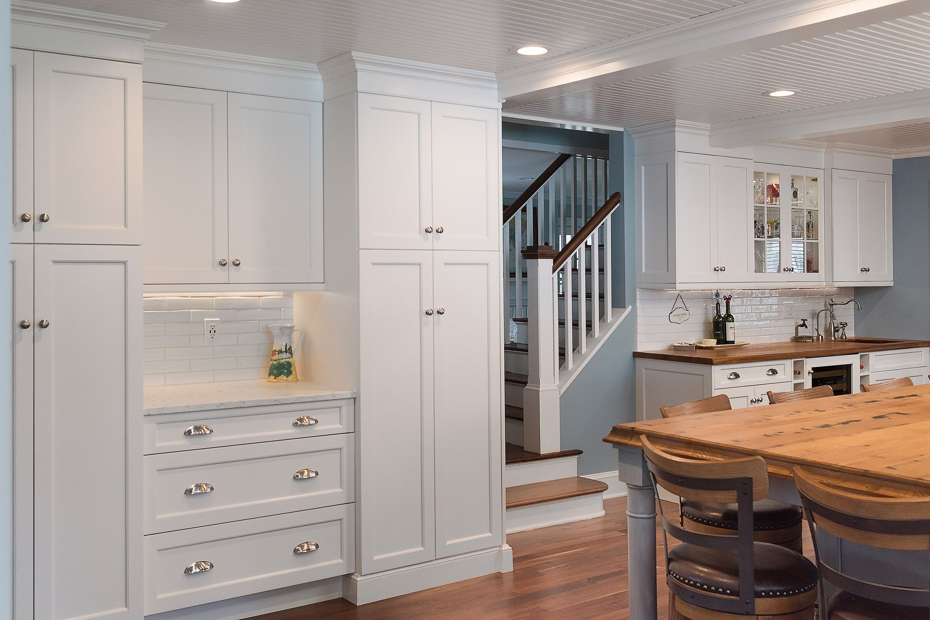 Restored Beach House in Madison, CT | The Kitchen Company | Gail ...