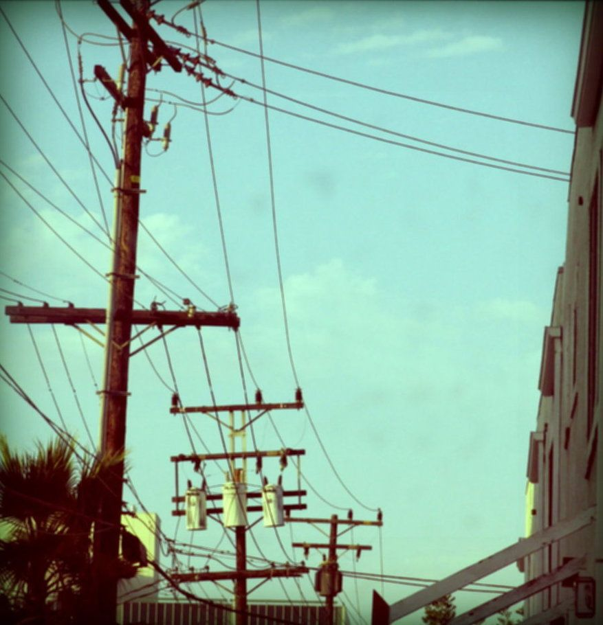 vintage power lines | POWER LINES in 2019 | Line photography, Pole