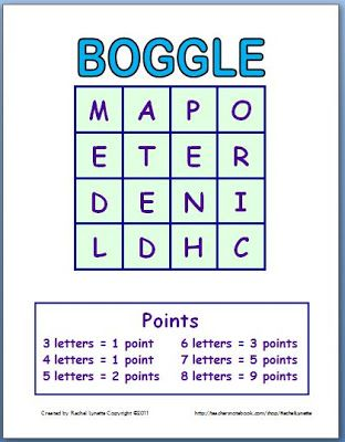 Play Boggle with Your Class! | Classroom freebies, Teaching ...