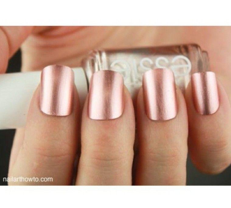 Rose Gold nail polish. I gotta say old trend dies hard. | Engagement ...