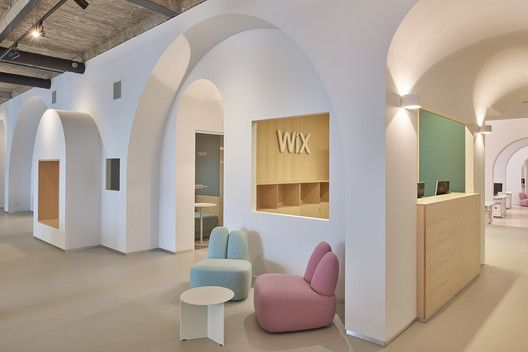 Wix com office in vilnius inblum architects architecture and arch