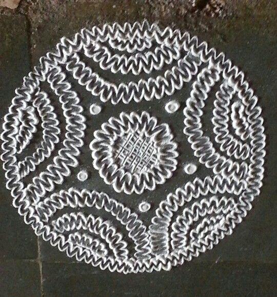 Circular pattern inspired from Poonam Borkar