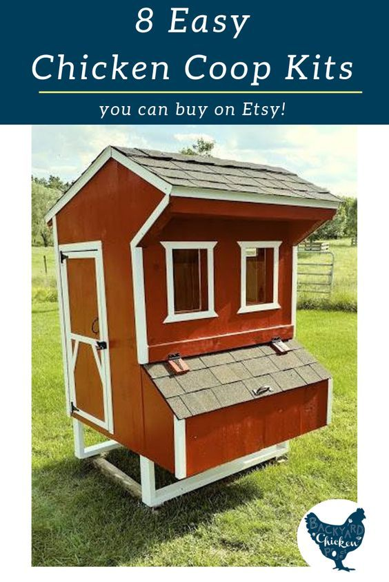 8 Beautiful Chicken Coop Kits Available on Etsy | Chicken ...