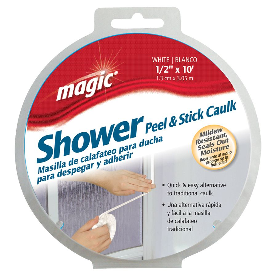 Magic Showers Caulk Strip Caulk Strips Lowes Home Improvements Home Decor Hacks