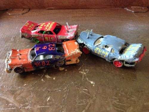 Toys For Trucks Wausau Wi : Gm piece custom demo demolition derby set buick