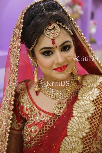 Roposo Com Fashion Social Network Bridal Makeover Bridal Looks Bridal Makeup