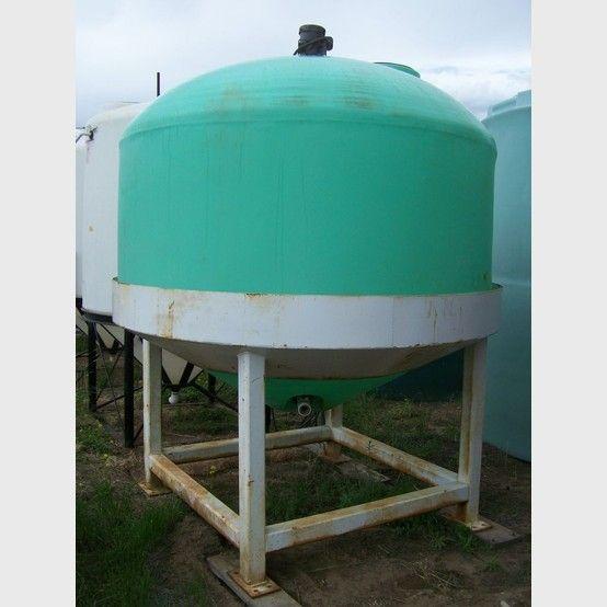 Conical 1500 Gallon Polyethylene Tank Water Storage Tanks Storage Tank Poly Tanks