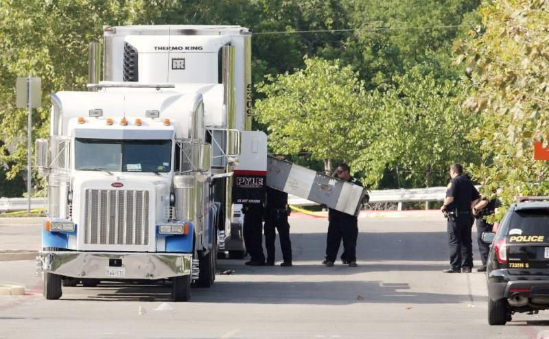 SAN ANTONIO (Reuters) The driver of a truck in which at