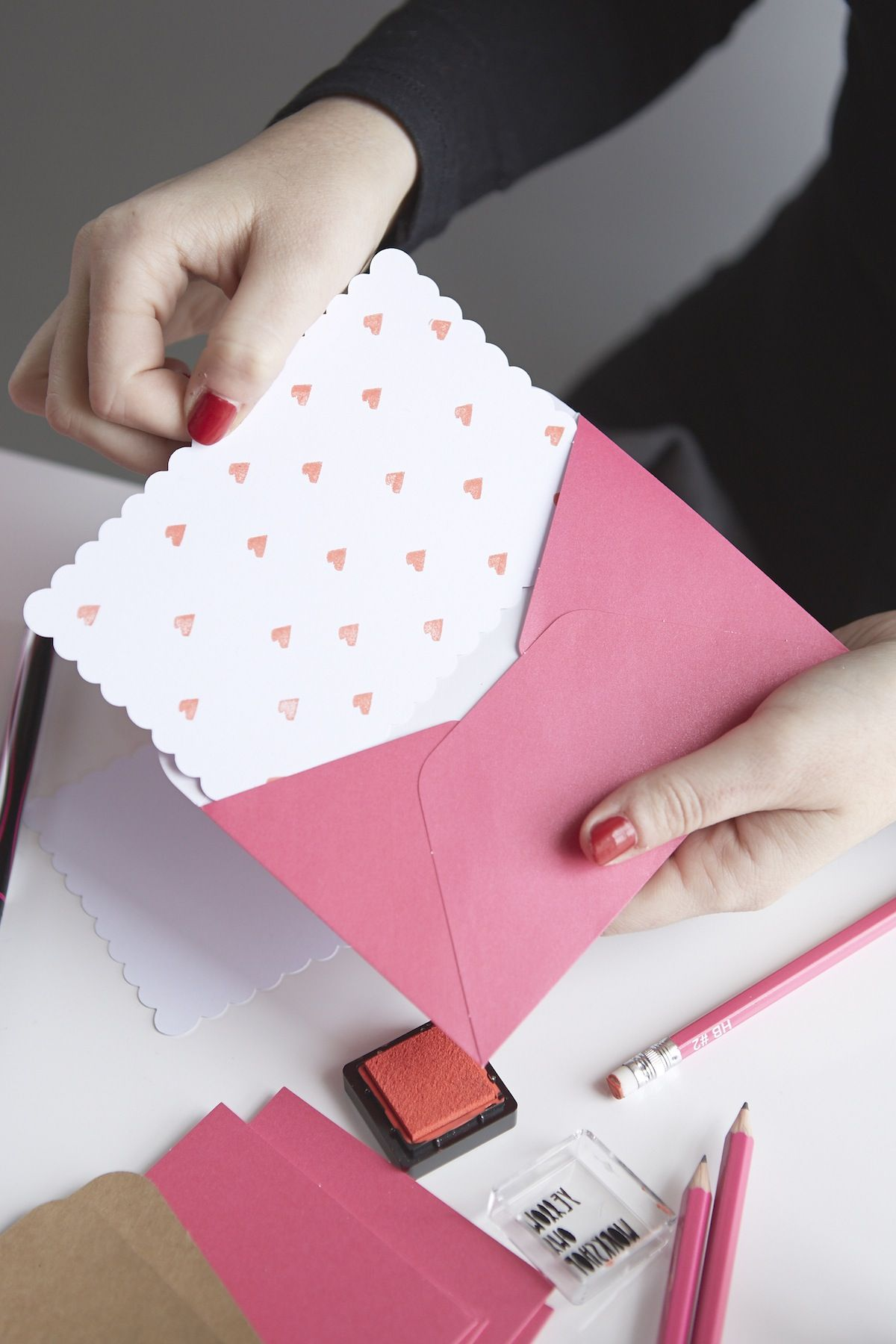 urban outfitters blog uo diy love letters cards made by
