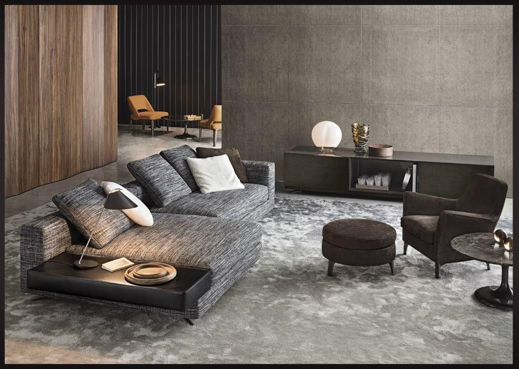 Minotti interiors lounge minotti furniture for Arredare un salotto moderno