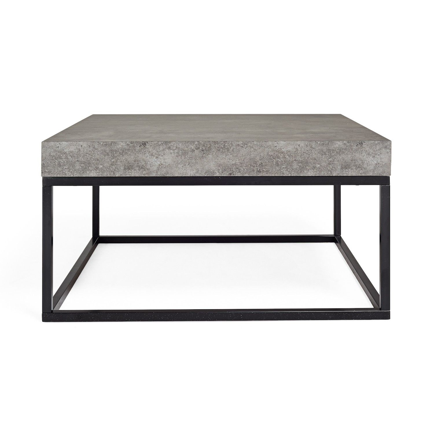 Industrial yet polished the Concrete Coffee Table is made from