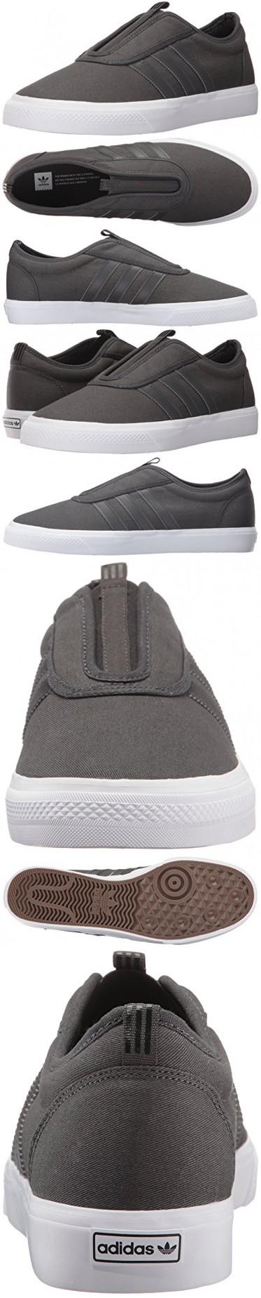adidas originali uomini dga - kung fu scarpa, solido grigio scuro