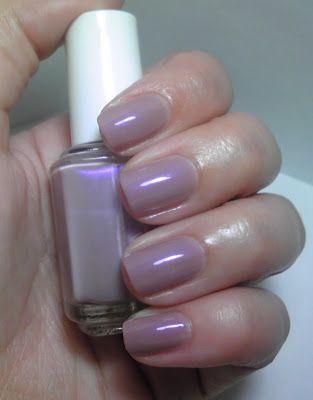 Essie Nail Polish Color Demure Vixen Neutral Mauve Creme Duochrome With A Pearl Iridescent