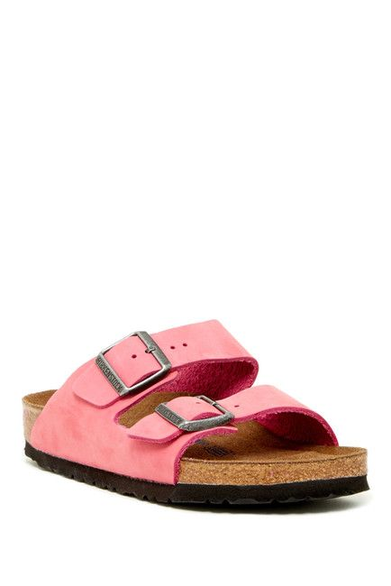 Arizona Dual Buckle Strap Sandal