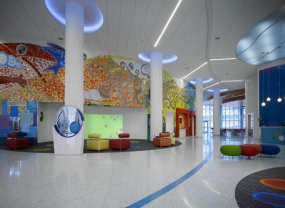 Explore Spa Interior Hospital Design And More Helen DeVos Childrens Grand Rapids Michigan