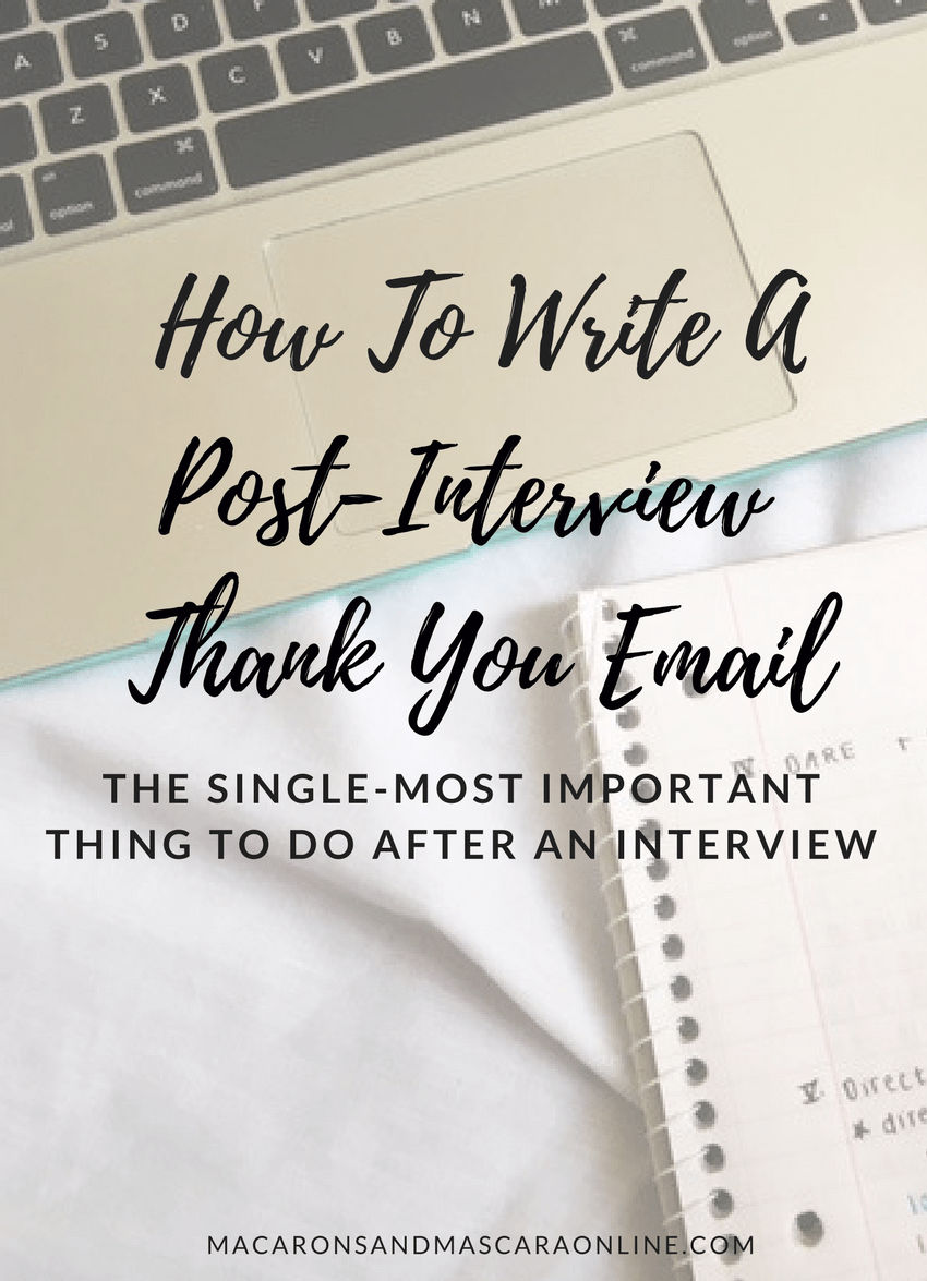 Tips For Writing A PostInterview Thank You Email - Interview thank you, Interview thank you email, Thank you email, Interview thank you letter, Thank you after interview, Interview thank you notes - Interviews can be pretty daunting but the next crucial step is sending the perfect thank you email to the hiring manager  Here's how!