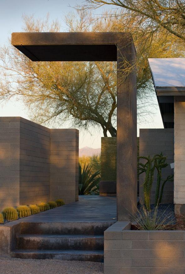 Moltz Landscape Tuscon Ibarro Rosando Design Architects
