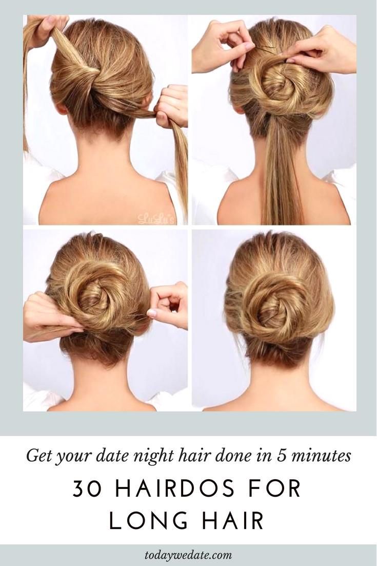 30+ easy and chic long hairstyles to try on your next date