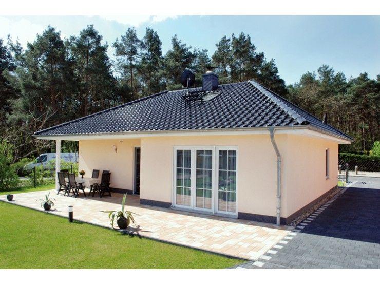 Hausfassade modern bungalow  Bungalow 3-100-R - #Einfamilienhaus von Elbe-Haus ...