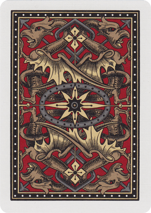 Bicycle Dragon Back Playing Cards Design Unique Playing Cards Cards