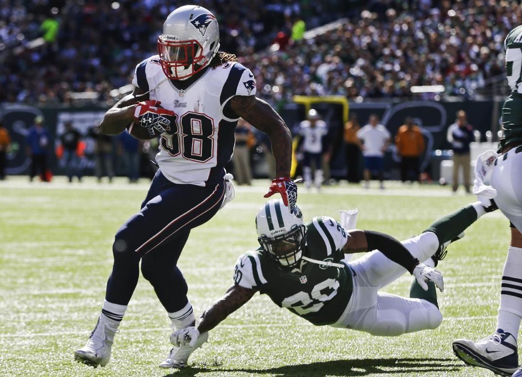 Best of NFL Week 7 New England Patriots' Brandon Bolden
