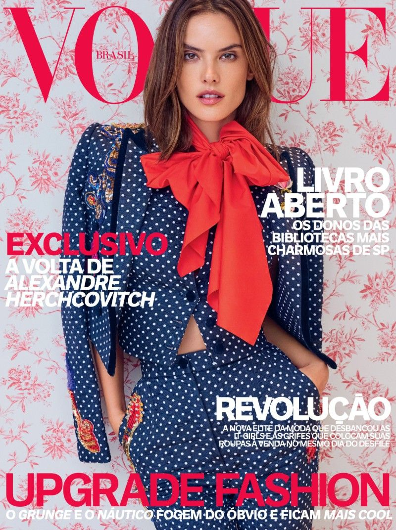 Alessandra Ambrosio Covers Vogue Brazil's April 2016 Issue   News   The FMD #lovefmd