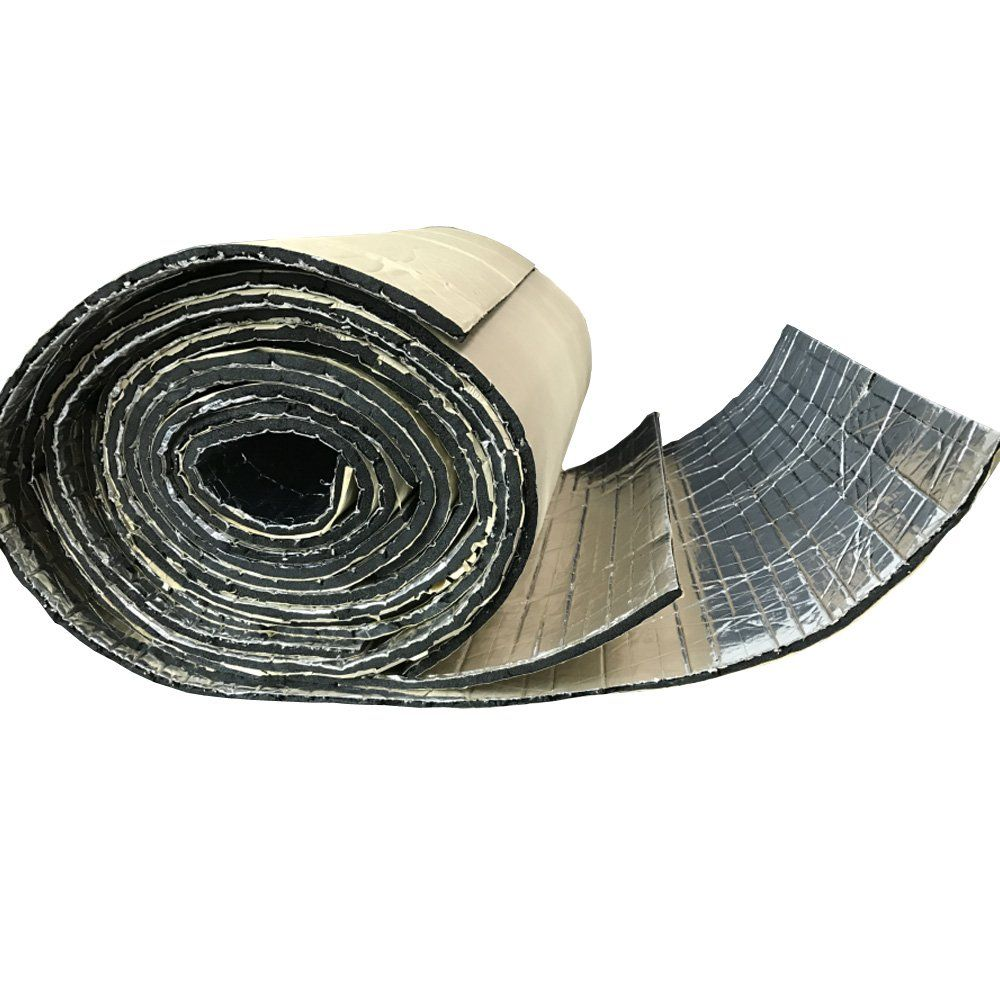 E Support 2 Roll Car Auto Van Sound Proofing Deadening Insulation Closed Cell Foam Glass Fibre 50 X 100 Cm Awesome Products With Images Sound Proofing Closed Cell Foam