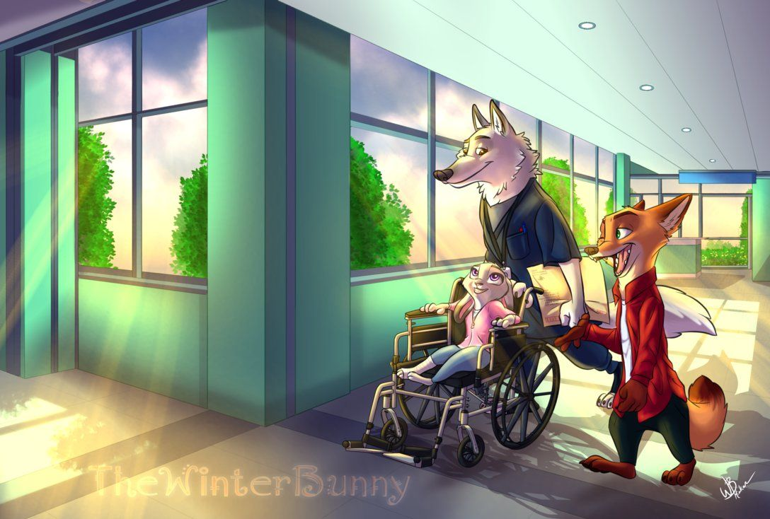 This scene takes place a little after the incident at the Museum when Nick and Judy reveal Bellwether's plot against Predators. This scene takes place with MrFalloutDropout's OC, Mr. Canis Grey and...