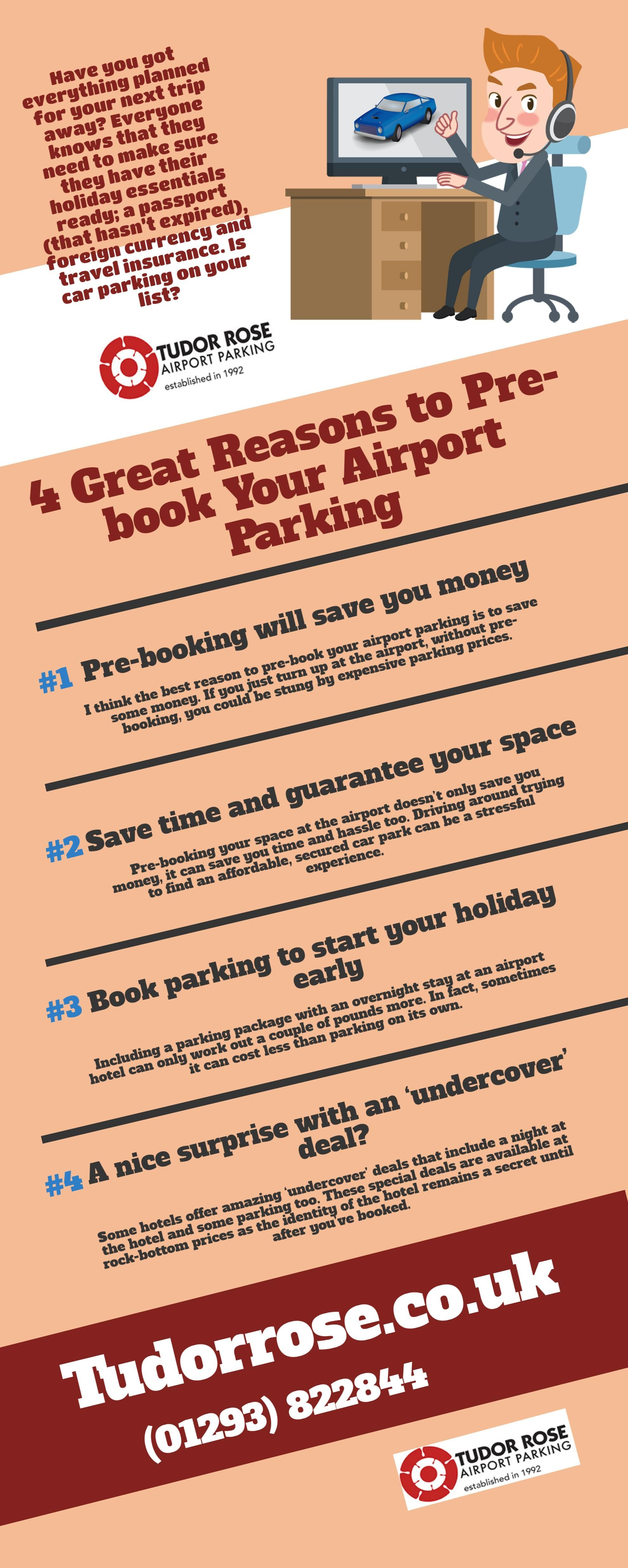 4 Great Reasons To Pre Book Your Airport Parking Car Parking