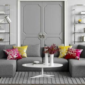 1001 + Idee per Soggiorno bianco e grigio di design ...