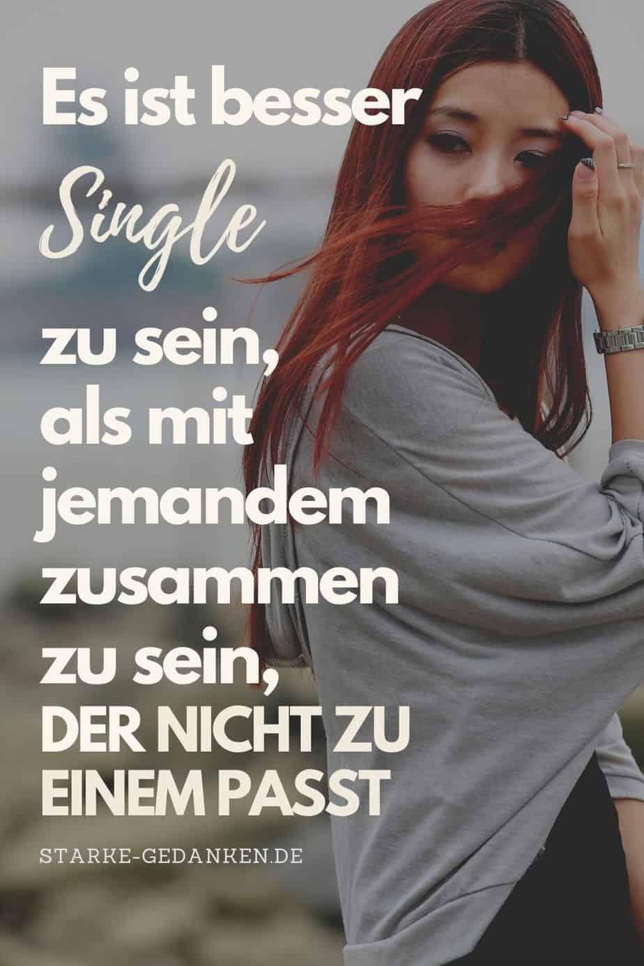 Frauen die nicht single sein können