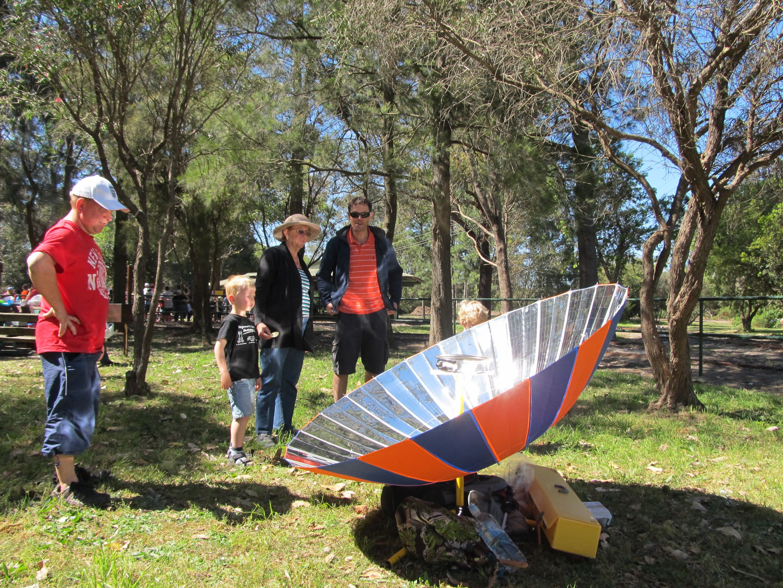 parabolic solar cooker diy