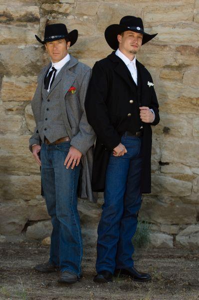 Ooo Good One For Casey Like They Grey Better Cowboy Wedding Attire Mens Wedding Attire Groom Wedding Attire