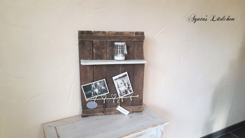 Vintage Style Wine Box Utensilo Liselotte With Krasilnikoff Hook