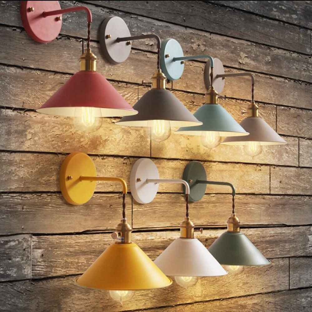Kiven Nordic Dimmable Wall Sconce Macaron Pink Bedside Reading Light Copper Lamp Holder Aisle Lights Frosted Indoor Wall Lights Wall Lights Bedroom Wall Lights