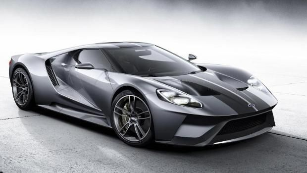 Ford Gt With V Lit And  Kw