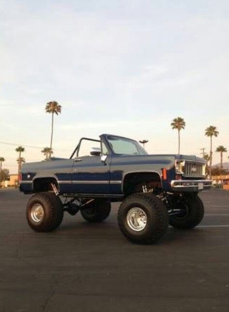Chevrolet K5 Blazer Beach Cruiser I Used To Have A Much