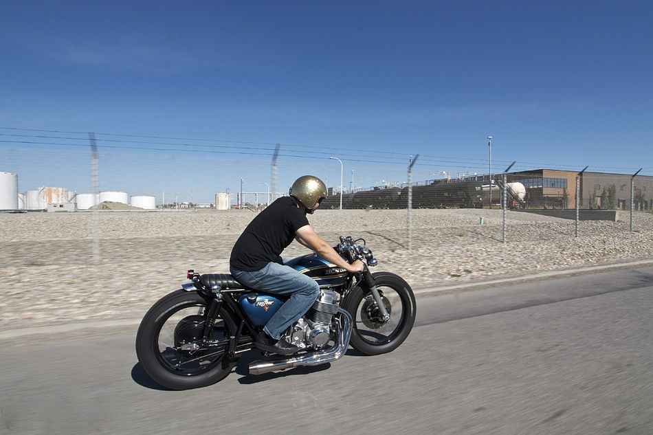 Blue 750 | Inazuma café racer