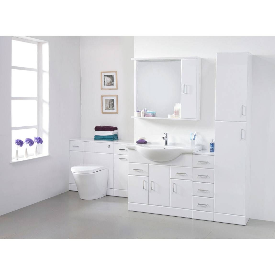 Sienna 85 Vanity Unit & Basin | Bathroom ideas | Pinterest | Basin ...