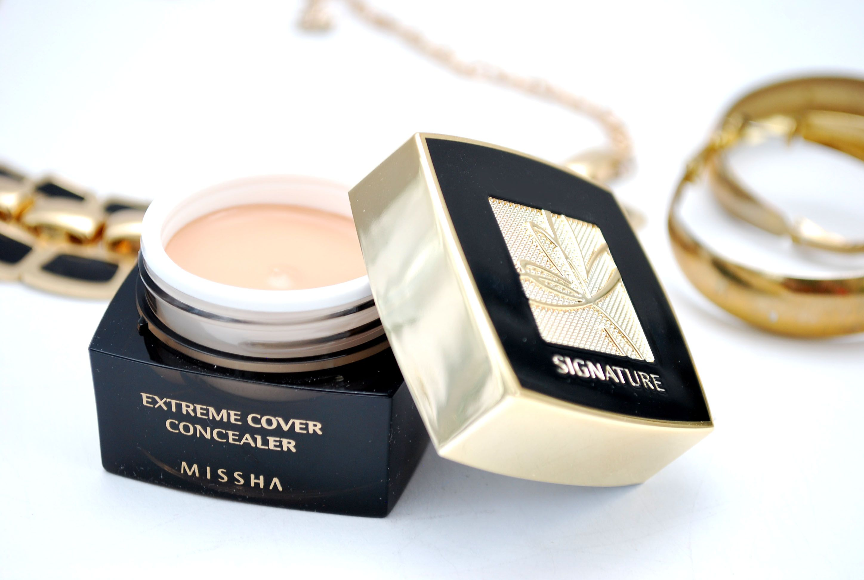 Review Missha Signature Extreme Cover Concealer #21 Light Beige - Ceetje