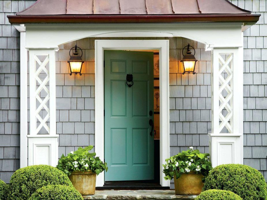 Front Door Color For Dark Blue House Front Door Ideas Front Door Colors For Light Brick Houses Te Best Front Door Colors Green Front Doors House Paint Exterior